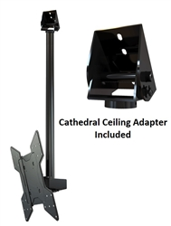 Cathedral Ceiling Tv Mount Bracket Kit For Tvs