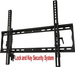 Anti Theft Lockable Tilting Tv Wall Bracket