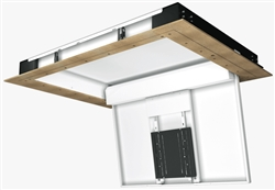 Motorized hinged ceiling mount future automation chh8 for Chief motorized tv mount
