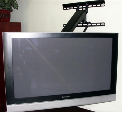 fireplace tv mount swivels lowers raises by wall mount world. Black Bedroom Furniture Sets. Home Design Ideas
