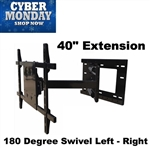 Articulating TV Mount 40in extension Black Friday Sale
