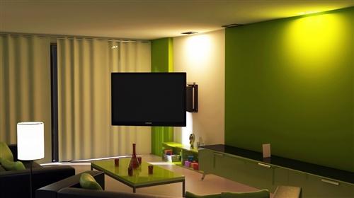 Sony kdl 48w600b 48 tv motorized 90 deg swivel wall mount for Chief motorized tv mount