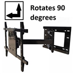 Sony XBR-49X830C Portrait Landscape Rotation wall mount - All Star Mounts ASM-501M31-Rotate