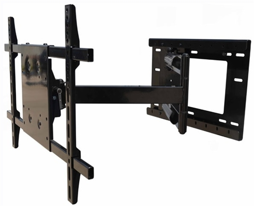 articulating tv wall mount with incredible 33 inch extension. Black Bedroom Furniture Sets. Home Design Ideas