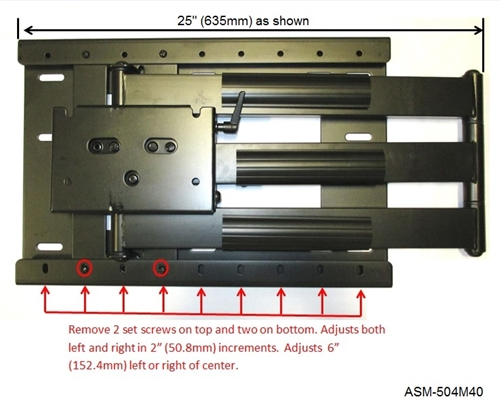 Articulating Tv Mount Incredible 40in Extension Vizio M552i B2